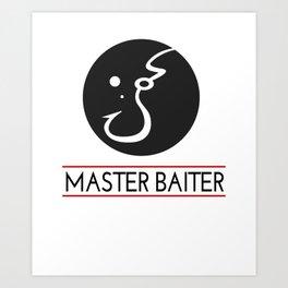 masterbaiter Art Print