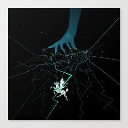 Constellation of Pegasus Canvas Print