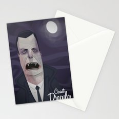 Count Dracula Stationery Cards