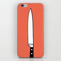THE KNIFE iPhone & iPod Skin