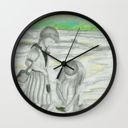 Turtle Rescue Wall Clock
