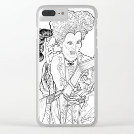 Sanderson Sisters Clear iPhone Case