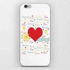 Fun, love, friends etc iPhone & iPod Skin