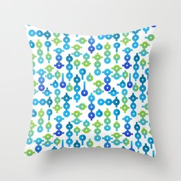 Chemistry Glass simple pattern Throw Pillow