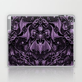 Bats and Beasts (Purple) Laptop & iPad Skin