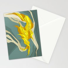 Abstract island Stationery Cards