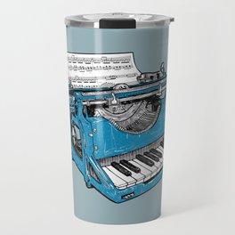 The Composition - Original Colors. Travel Mug