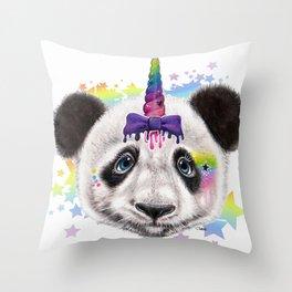 PandiCorn  - Sheena Pike Throw Pillow