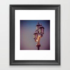 Royal Lights Framed Art Print