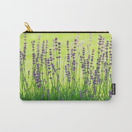 Lavender Pattern Carry-All Pouch