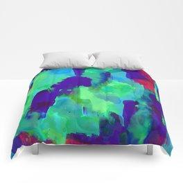 Spirit Green Comforters