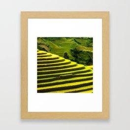 Duvet Cover 407D Framed Art Print