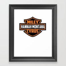 Miley Cyrus Hannah Montana  Framed Art Print