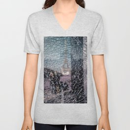 Tour Eiffel Unisex V-Neck