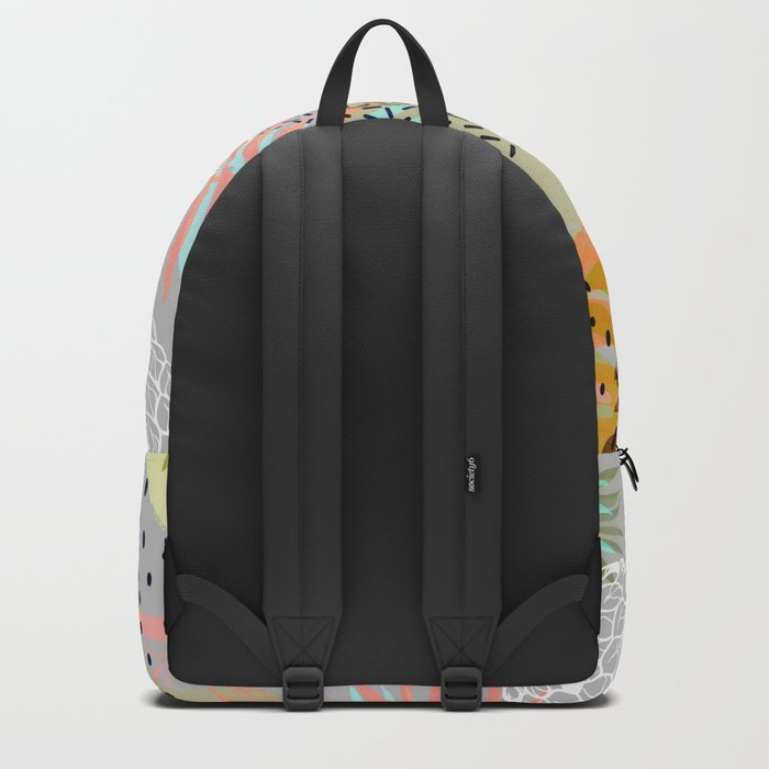 Abstract geometric and tropical elements Backpack
