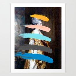 Composition 736 Art Print