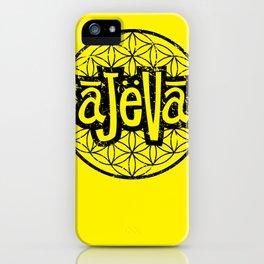 Ajeva Logo Yellow iPhone Case