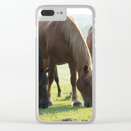 3 Amigos Clear iPhone Case