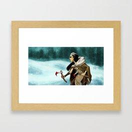 Northern Warrior Framed Art Print