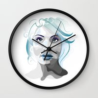 gemma Wall Clocks featuring Gemma by Ketina