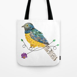 Bird of Costa Rica, trogon Tote Bag