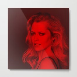 Teresa Palmer - Celebrity (Photographic Art) Metal Print