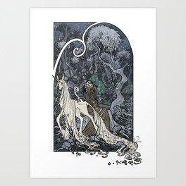Glass Forest Art Print