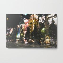 Tokyo Night Metal Print