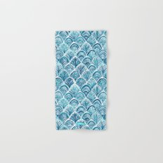 NAVY LIKE A MERMAID Hand & Bath Towel