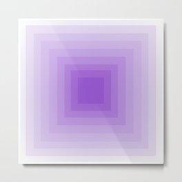 Lavender Monochrome Metal Print
