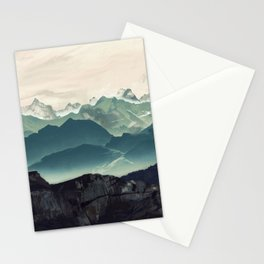 Shades of Mountains Stationery Cards