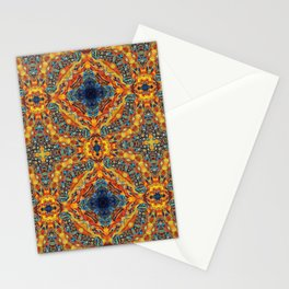 Sacred Flames and Tubes Between Stationery Cards