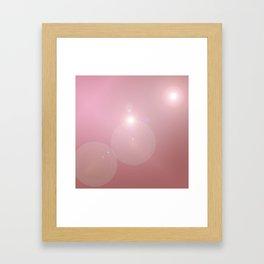 Pinkish Pastel Framed Art Print
