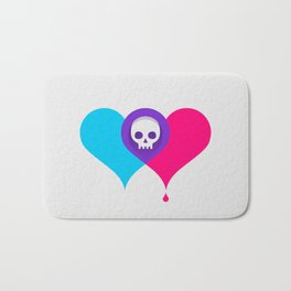 A Death-Marked Love Bath Mat
