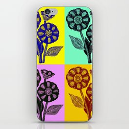 All flowers - All women iPhone Skin