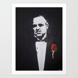 Godfather Art Print