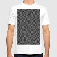 Lines 29J MEDIUM White Mens Fitted Tee