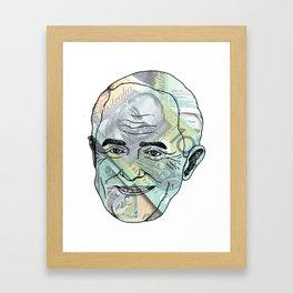 "MALCOM ""RICH BITCH"" TURNBULL  Framed Art Print"