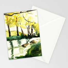 Australian River Stationery Cards