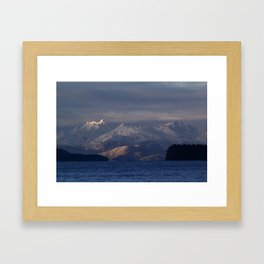 Chilkat Range Framed Art Print