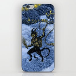 Gruss vom Krampus! iPhone Skin