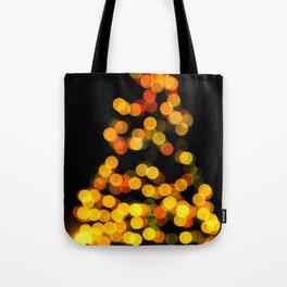 BOKEH XMAS TREE 3 Tote Bag