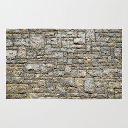 Granite Brick Wall Rug