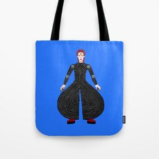 MOONAGE DAYDREAM (Blue) Tote Bag