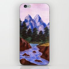 Mountain Stream iPhone & iPod Skin