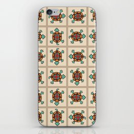 Native american pattern iPhone Skin