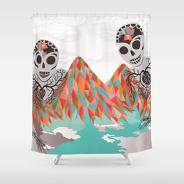 Spectres Shower Curtain