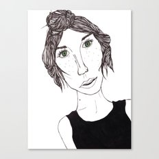 Isbelle Canvas Print