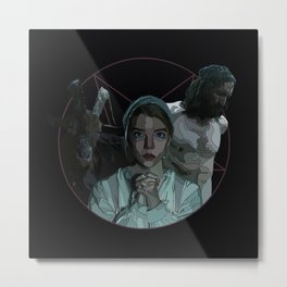 The Witch alternative poster Metal Print