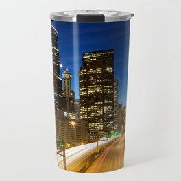 Amazing Seattle Night Travel Mug